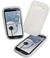 Silikon TPU Handy Hülle Cover Case Schutz  in Weiß für Samsung i9300 Galaxy S3