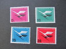 BRD205-208) 1955, Lufthansa, Postfrisch