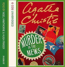 Murder In The Mews Unabridged by Agatha Christie (CD-Audio, 2006)