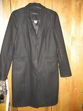 Ladies Black Laura Clement Coat Size 10