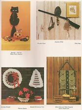 Halloween Cat, Holiday Wreath & Wall Hanging #PD1131 Much Ado About Knotting