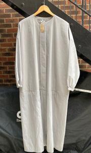 Pale Grey/Silver COS Lightweight Oversized Coat Overjacket SIZE 10 UK VGC