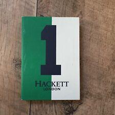 Hackett London No1 Small Green Mini Journal/Notebook