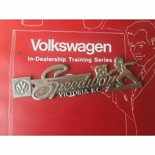 VW Dealership Emblem kdf okrasa split zwitter petri bug oval kafer cox bus beet