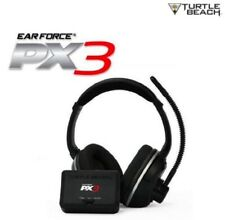Turtle Beach Ear Force PX3 Programmable Wireless Headset X360 XBox 360 PS3 NEW
