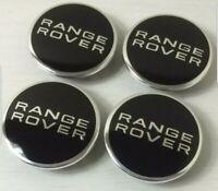 4 x 62mm Land Rover Alloy Wheel Centre Hub Caps - Range Rover