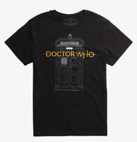 Doctor Who TARDIS NEW LOGO T-Shirt NEW Licensed & Official