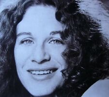CAROLE KING clippings B&W photos w/ lyric sheet 1970s folk I Feel the Earth Move
