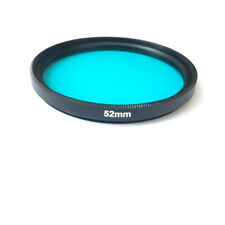 52mm IR Cut Glass Camera Filter QB39 BG39 to eliminate the red color light