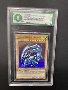 Yu-Gi-Oh Drago Bianco Occhi Blu Graad 8 Lckc-It001 Ultra Rara 1ª Edizione No Lob