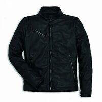 New Dainese Ducati Downtown C2 Leather Jacket Men's EU 50 Black #981032650