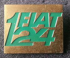 FIAT SPILLA 124 D'Oro verniciato 31x26 timbrato LORIOLI MILANO VECCHIO +