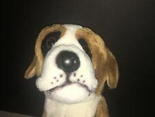 Saint St Bernard Dog Plush Stuffed Animal Large Big E&J Classic Realistic Prima