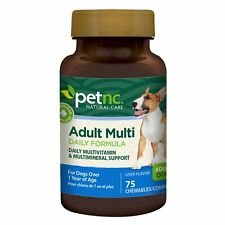 New listing PetNc Natural Care Adult Multi Chewables for Dogs, 75 Count