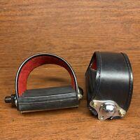 Vintage Schwinn MKS 1/2 Strap Straps Pedals Pedal Clean Japan Bicycle