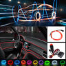 2M EL Wire Red Cold light Neon Lamp Atmosphere Lights Accessories Decor