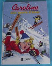 Pierre Prost Caroline aux sports d'hiver 1993
