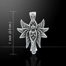 Angel .925 Sterling Silver Pendant by Peter Stone