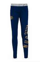 Denver Nuggets Leggings Juniors Small 3/5 Pants Gym Yoga 26 x 29 Actual Womens
