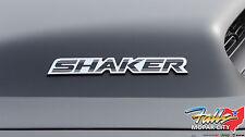 2014 Dodge Challenger SHAKER Chrome & Black Hood Emblem Nameplate Mopar OEM