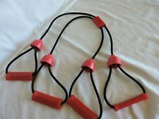 Resistance Strap X Shape Band with Four Grips