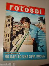 ROTOSEI=1962/43=VICTORIA ZINNY=EUGENIA FOLIGATTI GIANNI LA COMMARE=DE FILIPPO=