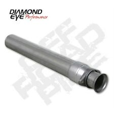 "Diamond Eye 124005 3.5"" Intermediate Pipe, Alum, Off-Road, For 94-97 Ford"