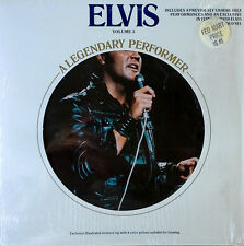 ELVIS PRESLEY - LEGENDARY PERFORMER - VOLUME 3 - LP + MEMORY LOG  - SHRINK WRAP