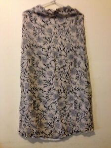 Equipment From Portmans Flare Long Skirt Size 6, Pre Owned Excellent Condition
