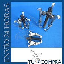 Juego de 3 extractores 75,100 y 150 mm. Poleas,Engranajes,rodamientos. Extractor