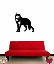 Wall Sticker Wolf Animal Symbol of Freedom Cool Decor for Living Room  z1340