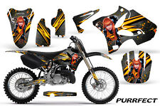 YAMAHA YZ125 YZ250 2 STROKE 2002-2014 GRAPHICS KIT CREATORX DECALS PURS