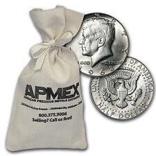 40% Silver Coins $100 Face Value Bag Avg Circ - SKU #47