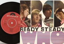 THE WHO READY STEADY WHO EP SWEDISH 45+PS 1966 MOD FREAKBEAT GARAGE HIGH NUMBERS