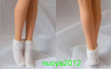 "Custom PL45 1/6th White Lace Short Stocking Clothing Accessory Model F/12"" Body"