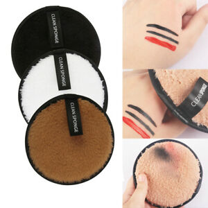 1/3/5x Facial Beauty Cleansing Sponge Puff Face Foundation Makeup Remover Pads