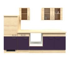 Küchenzeile ohne Geräte Küchenblock Einbauküche ohne Elektrogeräte Küche 270 cm