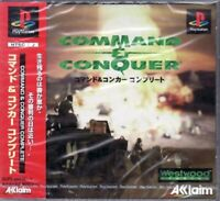 USED PS1 PS PlayStation 1 Command & Conquer Complete 21846 JAPAN IMPORT