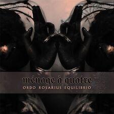 ORDO ROSARIUS EQUILIBRIO Menage A Quatre EP CD Digipack 2019 LTD.1000