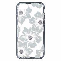 Kate Spade Hybrid Hardshell Case for iPhone 8/7 - Hollyhock White Flowers/Clear