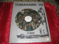 1979 Tehachapi High School Tomahawk Yearbook Tehachapi California