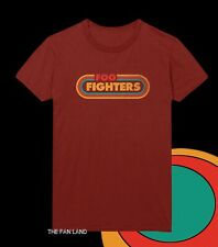 New Foo Fighters Logo Mens Vintage Throwback T-Shirt