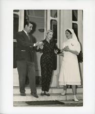 Martine Carol et son mari Christian Jaques  Vintage silver print Tirage argent