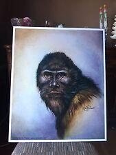 Robert W. Morgan Bigfoot Poster By Marty Katon