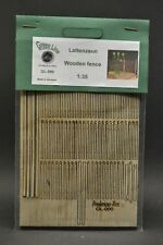 GreenLine GL-090 - Wooden fence - laser cut 1:35 diorama accessory