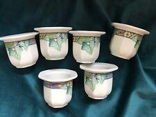 6 Villeroy & Boch Pasadena Egg Cups