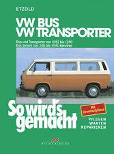 VW BUS T3 BENZINER 1982-1990 SYNCRO REPARATURANLEITUNG SO WIRDS GEMACHT 38