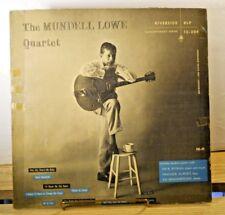 MUNDELL LOWE QUARTET 1955 Jazz LP Riverside Contemporary Series RLP 12-204 Mono