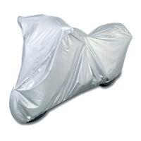 New Grey Motorcycle Waterproof Outdoor Motorbike Rain Dust Vented Bike Cover M
