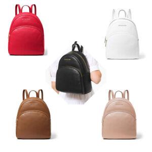 Michael Kors Abbey Pebbled Leather Medium Backpack, School BAG&Dustbag